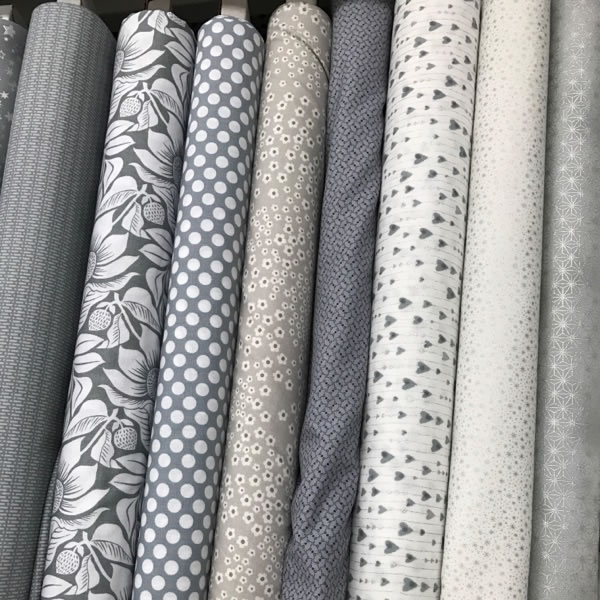 Gray Fabric Patterns
